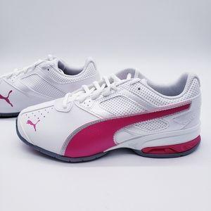 Puma Tazon 6 FM White Pink Sneakers